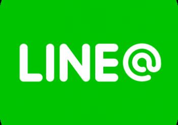 LINE@にアカウントを作成しました。