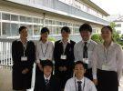 卒業生が教育実習生として帰ってきてくれました。